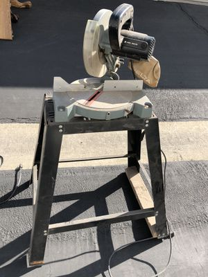Miter saw and table for Sale in San Dimas, CA