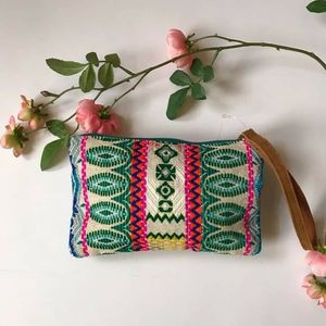 Handmade ethnic bold bead clutch wristlet bag for Sale in GRANT VLKRIA, FL
