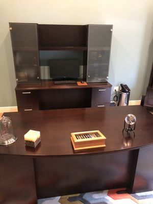 Beautiful cherry wood office furniture for Sale in Jupiter, FL