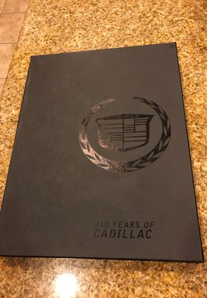 110 years of Cadillac hardcover book for Sale in Chino, CA