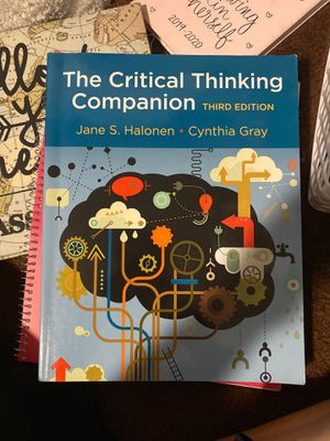 Critical Thinking 3rd edition for Sale in Norwalk, CA