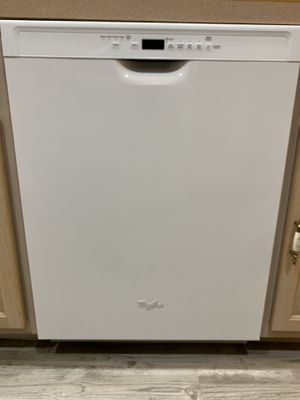 Whirlpool Dishwasher Stainless Steel Tub 2 Years Young *Price Reduced now only $110.00 wont last at this price. for Sale in Ramsey, NJ
