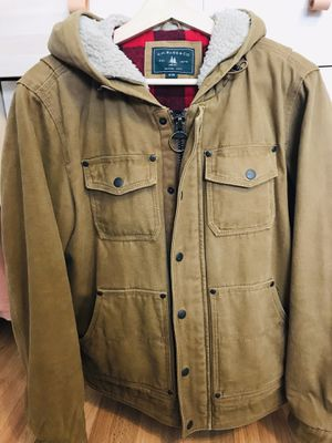 G.H.Bass & Co. Mens Jacket size Small with hoodie for Sale in Los Angeles, CA