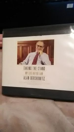 Alan Dershowitz Audio CDs for Sale in Snohomish, WA