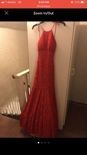 Red sequin prom dress for Sale in Pontiac, MI