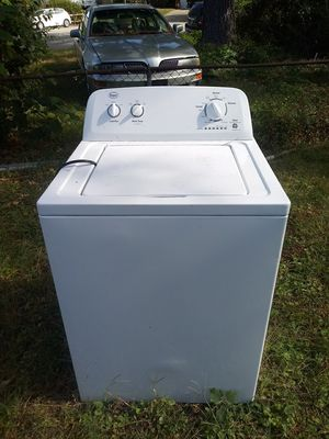 Roper high efficiency washer with hoses/power cord EXCELLENT for Sale in Virginia Beach, VA