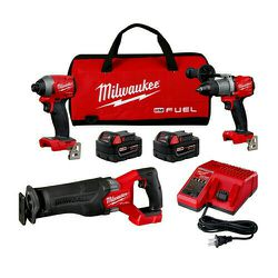 Milwaukee M18 Fuel Brushless (7) Piece, (3) Tool Combo Kit for Sale in Nashville,  TN
