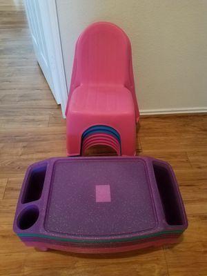 Kids table or glitter lap desk for Sale in Grand Prairie, TX
