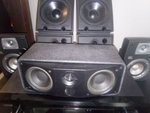 Polk/JBL home theater speakers for Sale in Buffalo Ridge, SD