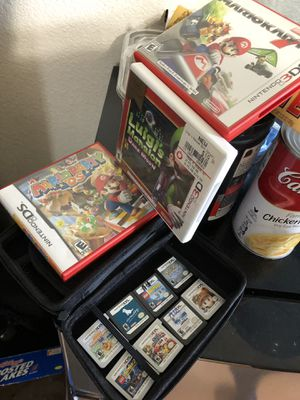3DS / DS Games. 2DS XL case also for sale for Sale in Union City, CA