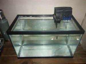 Aquarium & filter for Sale in Houston, TX