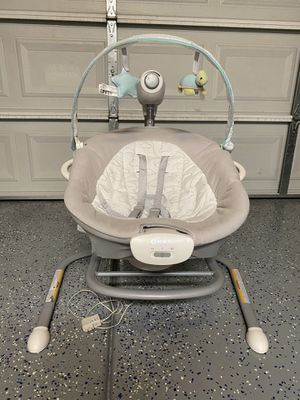 Graco Duet Sway Baby Swing with Portable Rocker for Sale in Peoria, AZ