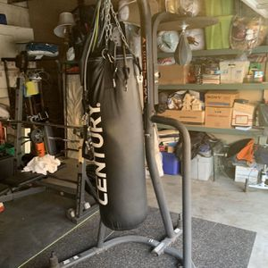 Century Heavy Set boxing bag & Stand for Sale in Fullerton, CA
