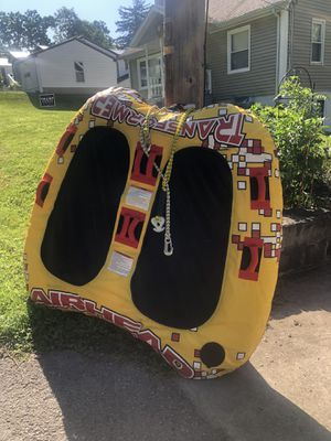 transformer 2 person double rider inflatable lake tube for Sale in Conneaut Lake, PA