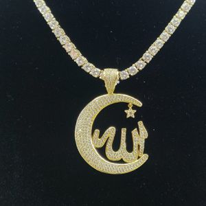 Custom Allah Charm & Tennis Chain for Sale in Tucker, GA