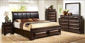 King and Queen Gloria Bedroom Sets available!!!! WE ARE OPEN VISIT IN STORE OR CALL US TODAY!!!! for Sale in Dunedin, FL
