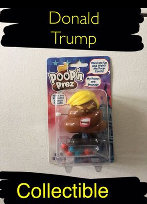 Not here for political purposes just to sell. Donald trump. Poop candy dispenser for Sale in Ontario, CA