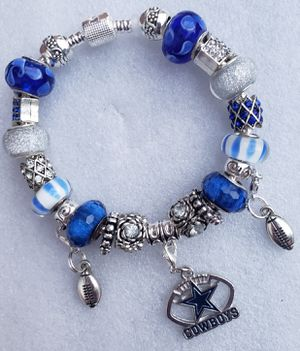 Dallas cowboys charm bracelet 1@ $20 or 2@ $30 for Sale in Baltimore, MD