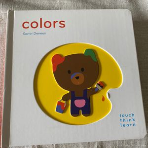 Baby Toddler Book Colors- Touch/Think/Learn for Sale in Beavercreek, OR