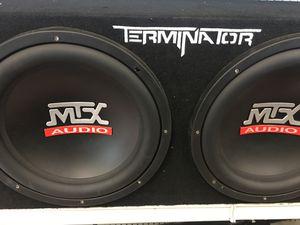 """2 12"""" max audio sub for Sale in Murfreesboro, TN"""