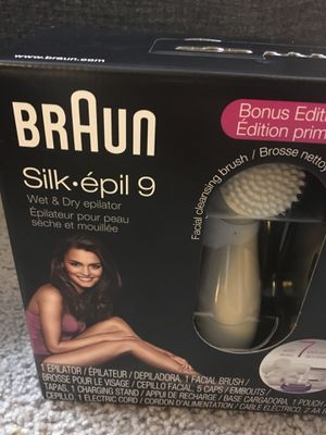 Braun skip epil 9 electronic for Sale in Alexandria, VA
