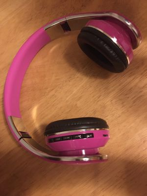 Unbranded Pink Bluetooth Headphones for Sale in North Brunswick Township, NJ