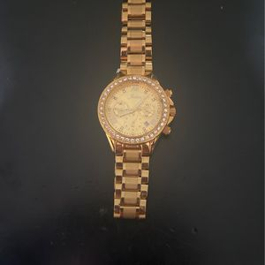 Women's Luxury Diamond Crystal Chronograph Watch Stainless-Steel for Sale in Elmont, NY