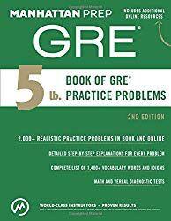 GRE prep manual for Sale in Bangor, ME