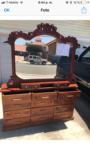 Drawer mirror antiqued for Sale in Pico Rivera, CA