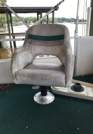 Captains chair pontoon boat for Sale in Jacksonville, FL