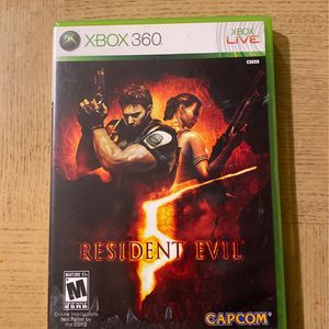 Xbox 360 Resident Evil Video Game for Sale in Matthews, NC