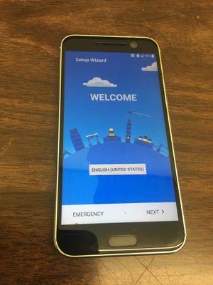 HTC 10 32GB Glacier Silver Verizon/Cricket for Sale in Greensboro, NC