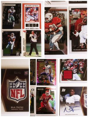 45 Card Baseball & Football Card Lot Rookie Auto - RPA - Yankees Cards Cubs Steelers Chargers Cowboys Juju Smith Schuster - Pujols & more for Sale in Cincinnati, OH