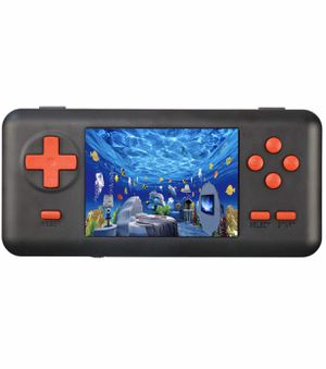 Handheld Retro Game Console for Kids Adults - 150 Classic Games 8 Bit Games Player with AV Cable Can Play on TV (Support TF Card Extensions) (Black) for Sale in Arlington, TX
