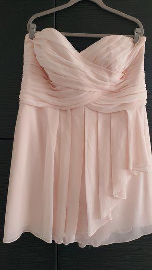 Blush pink cocktail dress - plus size (24) for Sale in Denver, CO