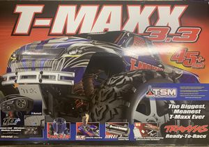 Traxxas T-Maxx 3.3 Open Box, Only Used Once! for Sale in Franklin Township, NJ