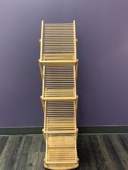 Wooden Literature Rack With Carrying Case for Sale in Portland,  OR