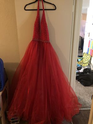 Red Prom Dress for Sale in Fort Worth, TX