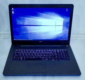Dell Inspiron 17 5000 gaming laptop, AMD quadcore, 12gb ram, 2TB hd, 6gb gfx, hdmi, Adobe, win10 for Sale in Plano, TX