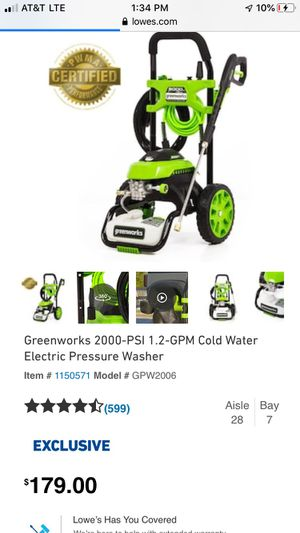 Brand new pressure washer 110$ for Sale in Buffalo, NY