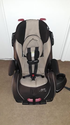 Car seat and booster seat Alpha Omrga Elite. for Sale in Riverside, CA