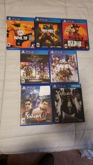 PS4 games, like new. for Sale in Wilsonville, OR
