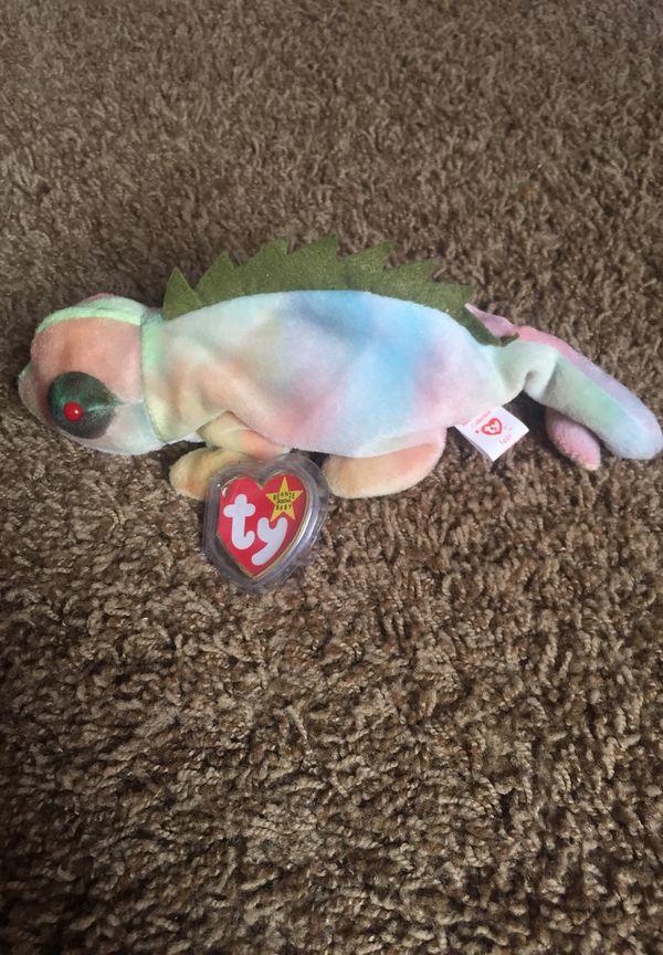 1997 Iggy beanie baby