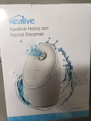 Kealive Nano Portable Facial Steamer (model Be-f2) for Sale in Louisville, KY