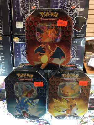 Pokemon Hidden Fates Tin Collection for Sale in Hacienda Heights, CA