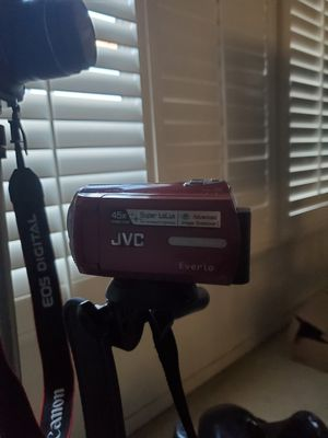 Camera for sell....camera for seeeeelllll 40 bucks plus the tripod bag and side equipment for Sale in Rialto, CA