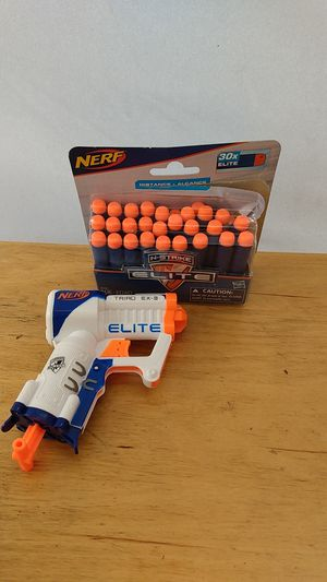 Nerf gun and bullet for Sale in Anaheim, CA