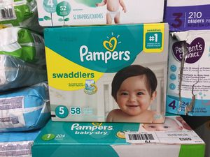 Pampers diapers for Sale in Mesquite, TX