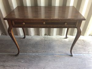 Vintage Antique Desk with chair by American of Martinsville for Sale in undefined