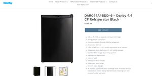 Danby Black 4.4 Cu. Ft. All Refrigerator Mini Fridge for Sale in Hayward, CA